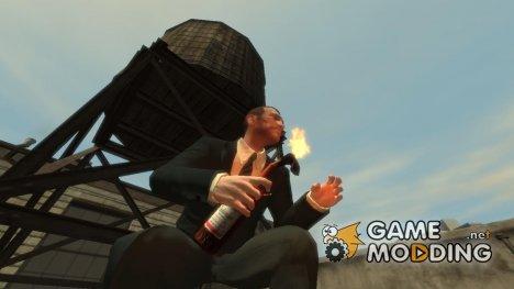 """Коктейль молотова """"Будвайзер"""" для GTA 4"""