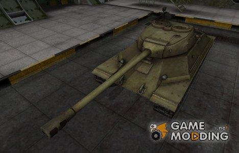Шкурка для ИС-6 в расскраске 4БО for World of Tanks