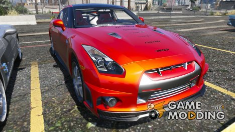 2010 Nissan GT-R SpecV 1.0 for GTA 5