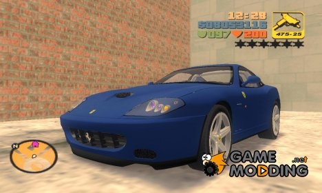 Ferrari 575M Maranello 2002 for GTA 3
