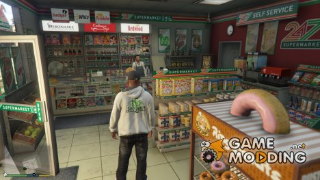 Robbable 24/7 Store Locations 2.0 для GTA 5