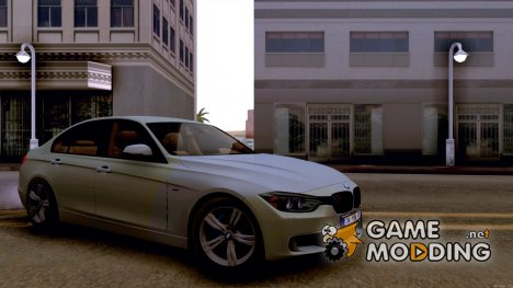 BMW 320d (F30) with M bumpers for GTA San Andreas