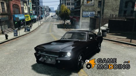 Shelby Mustang GT500 Eleanor 1967 v1.0 для GTA 4