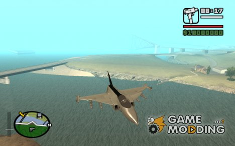JAS-39 Gripen for GTA San Andreas
