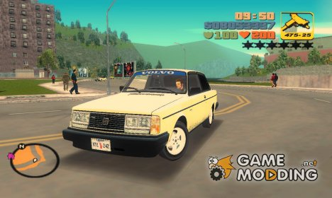 Volvo 242 Turbo Evolution для GTA 3
