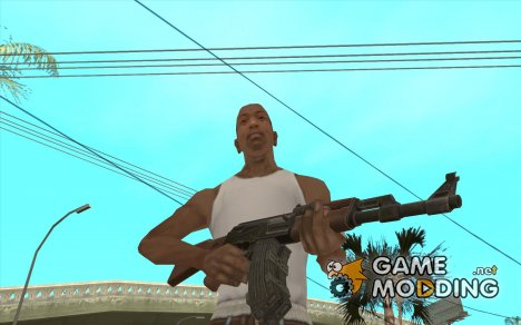 [Point Blank] AK47 ext для GTA San Andreas