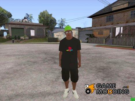 Franklin PlayStation Shirt для GTA San Andreas