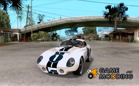 Shelby Cobra Daytona Coupe 1965 for GTA San Andreas