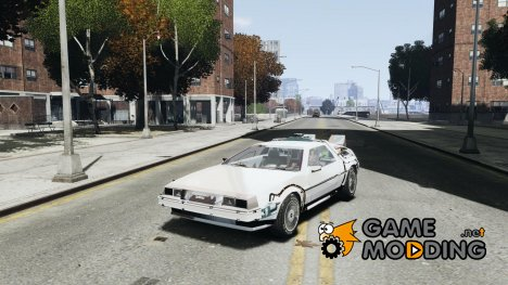 DeLorean DMC-12 (BTTF1) for GTA 4