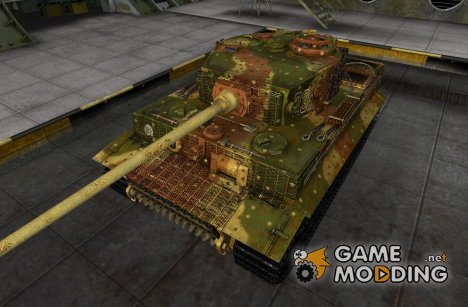Шкурка для PzKpfw VI Tiger (Russia 1944) for World of Tanks