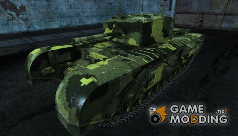 Шкурка для Черчилля для World of Tanks