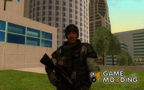 Финн из Resident evil 6 для GTA San Andreas