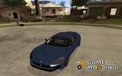 Maserati GranTurismo MC 2009 for GTA San Andreas