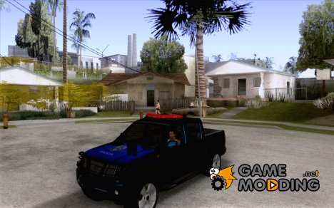 Nissan Frontier PMERJ for GTA San Andreas