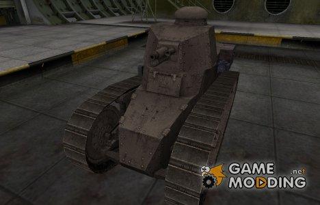 Перекрашенный французкий скин для Renault FT for World of Tanks