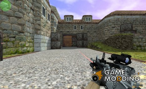 Two-Tone m4 for Counter-Strike 1.6