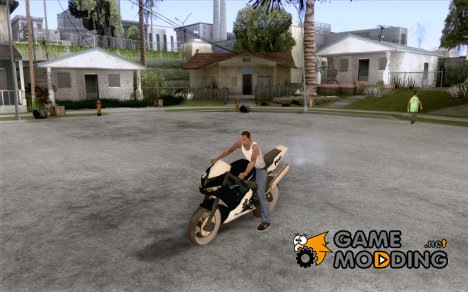 Yamaha Copbike Beta для GTA San Andreas
