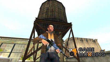 Автоматический карабин Colt M4A1 v.3 для GTA 4
