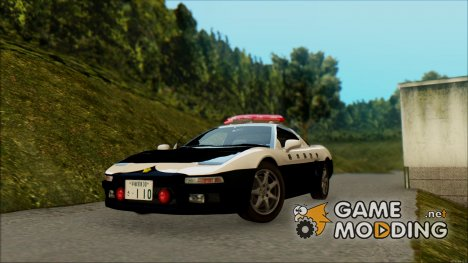 Honda NSX Police Car for GTA San Andreas