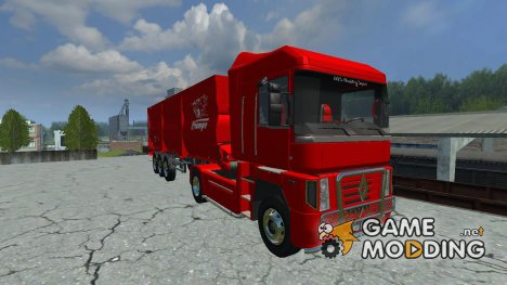 Renault Magnum Vega и Krampe Bandit SB30 for Farming Simulator 2013