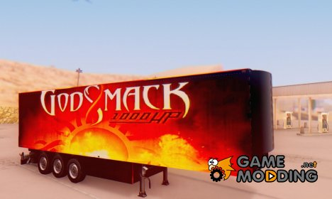 Godsmack 1000hp Trailer 2014 для GTA San Andreas