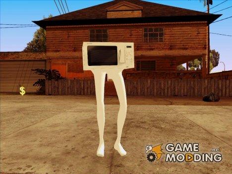 Микроволновка HD for GTA San Andreas