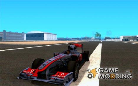 McLaren MP4-25 F1 для GTA San Andreas