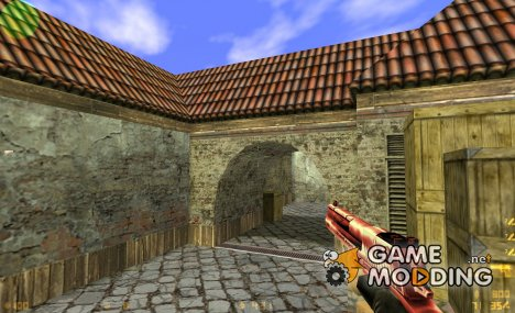 red desert eagle для Counter-Strike 1.6