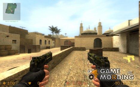 Camo Elite/USP (REQUEST) для Counter-Strike Source