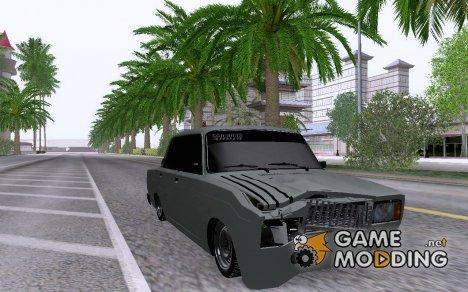 ВАЗ 2107 разбитая для GTA San Andreas