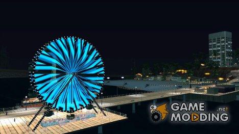 Динамичное колесо обозрения 0.5 BETA для GTA San Andreas