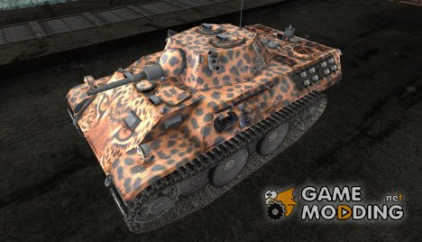 шкурка для VK1602 Leopard № 54 for World of Tanks