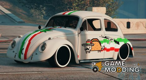 Vocho Mexico Nyan cat for GTA 5