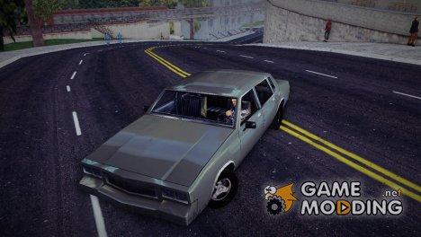 GTA SA Tahoma for GTA 3