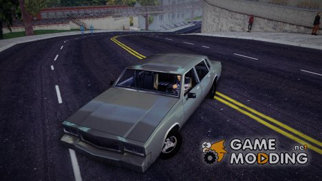 GTA SA Tahoma для GTA 3