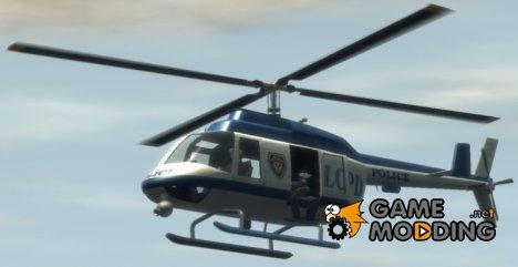 Реалистичные звуки вертолёта для GTA 4