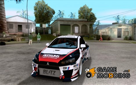 Mitsubishi Lancer Evo X 2008 для GTA San Andreas