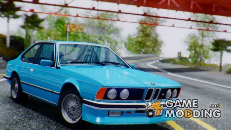 1984 BMW M635 CSi (E24) for GTA San Andreas