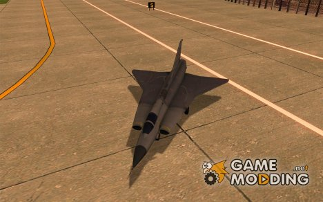 Saab J-35 Draken for GTA San Andreas