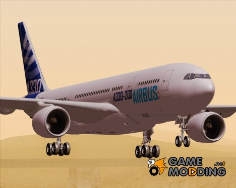 Airbus A330-200 Airbus S A S Livery для GTA San Andreas