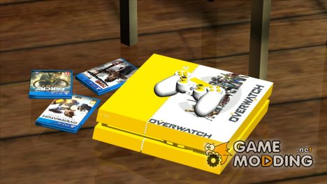 PS4 Overwatch edition для GTA San Andreas