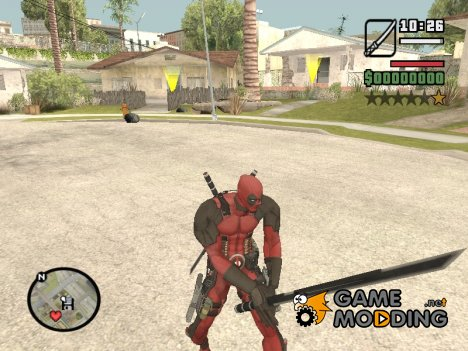 Deadpool Sword From Deadpool The Game for GTA San Andreas