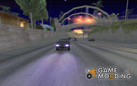 Пурпурный for GTA San Andreas