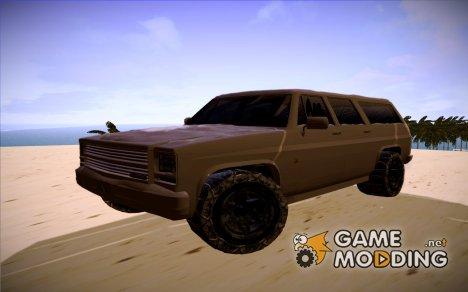 GTA 5 RancherXL Snow для GTA San Andreas