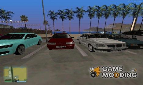Пак машин, которые разъезжают по городам России для GTA San Andreas