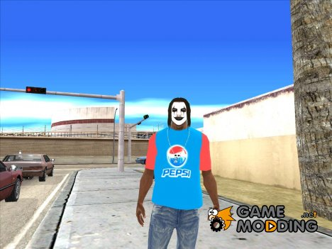 Футболка pepsi for GTA San Andreas