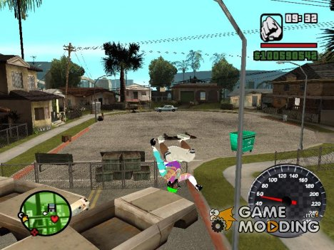 Новый спидометр for GTA San Andreas