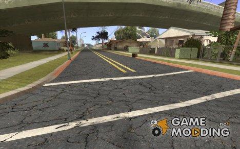 Новые дороги для Гроув-Стрит. для GTA San Andreas