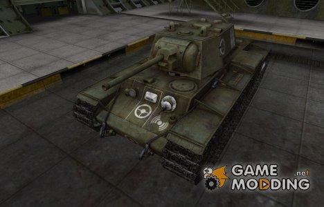 Зоны пробития контурные для КВ-1 для World of Tanks