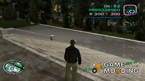 Прозрачный HD Hud for GTA Vice City